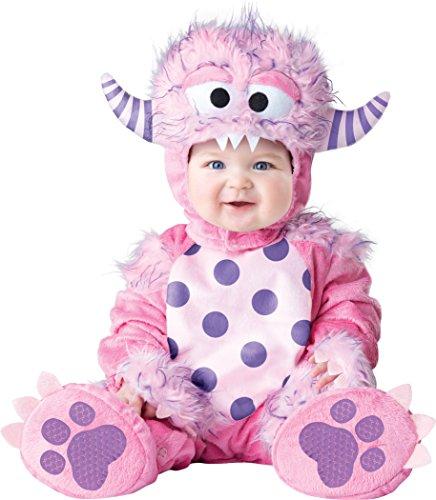Little Monster Infant Halloween Costume (InCharacter Baby Girls' Lil' Monster Costume, Pink,)