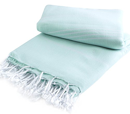 Pestemal Blanket Turkish Cacala AquaMarine product image
