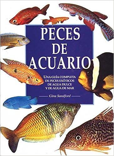 Peces de acuario : una guía completa de peces exóticos de agua dulce y de agua de mar (Spanish) Hardcover – 1996