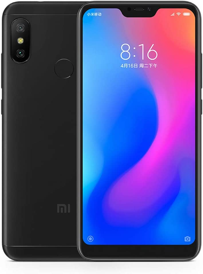 Xiaomi Mi A2 Lite 3GB RAM 32GB Dual SIM Smartphone Black - Version Global