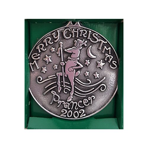 Armetale Wilton Ornaments (Wilton Armetale Merry Christmas Prancer 2002 Pewter Ornament)