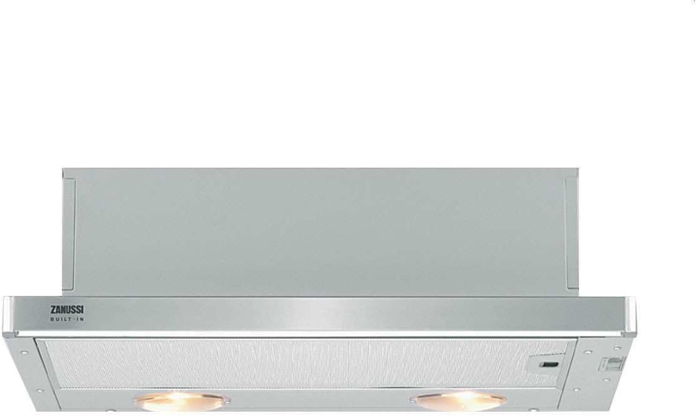Zanussi ZHP637X - Campana (420 m³/h, Canalizado/Recirculación, E, g, C, 67 dB): Amazon.es: Hogar