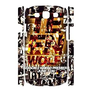 Custom Teen Wolf 3D Cover Case, Custom Hard Back Phone Case for Samsung Galaxy S3 I9300 Teen Wolf