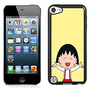 Fashion DIY Custom Designed iPod Touch 5th Generation Phone Case For Chibi Maruko Laughing Phone Case Cover