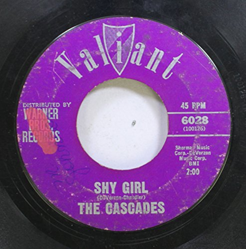 The Cascades 45 RPM Shy Girl / The Last Leaf