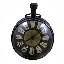 RoyaltyRoute Decorative Desk & Shelf Clocks Vintage Style, 2.7 Inches for Office, Home Decor Gift Idea