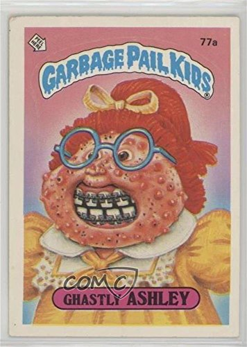 Ghastly Ashley (Trading Card) 1985 Topps Garbage Pail Kids Series 2 - [Base] #77a ()