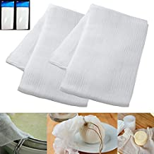 2 Sq Yard Cheesecloth White Gauze Fabric Kitchen Cheese Cloth Bleach Cotton New