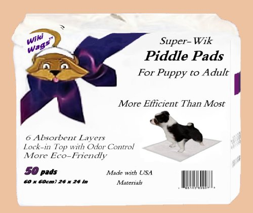 Super-Wik Piddle Pads for Dogs Review