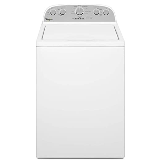 Whirlpool WTW5000DW 4 3 Cu  Ft  Cabrio® HE Top Load Washer with Low-Profile  Impe, White