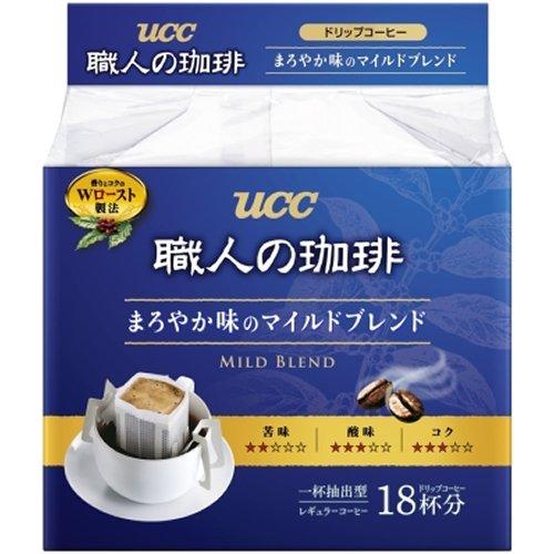 UCC 職人の珈琲ドリップコーヒー まろやか味のマイルドブレンド 18P