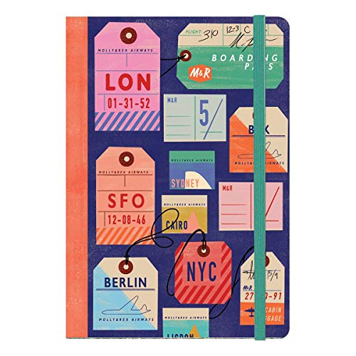 Molly & Rex Luggage Tags Soft Cover Bungee Journal (38547)