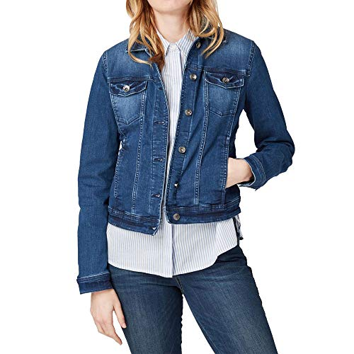 Blue Mujer Azul 10141 nos Tom stone Coole Jeansjacke Para Denim Tailor Chaqueta YTn0z0PUW