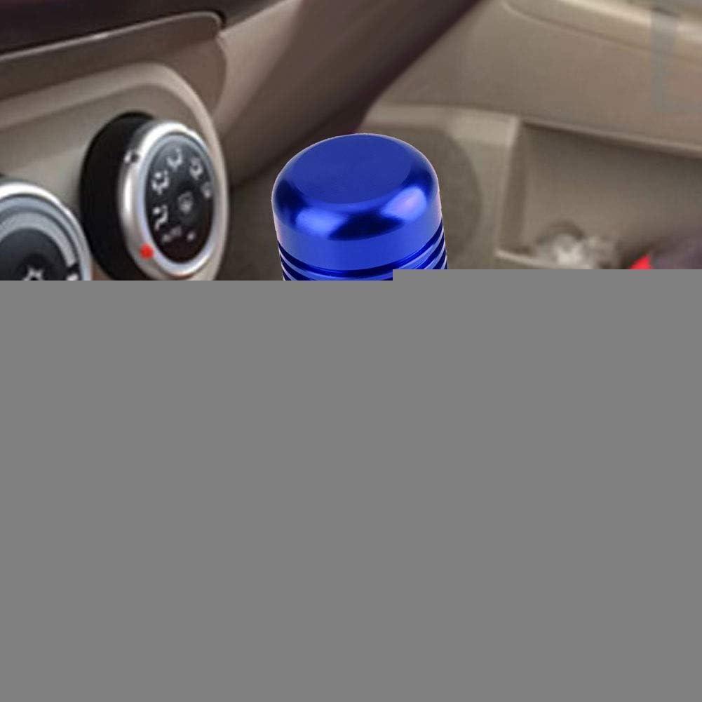 Schaltknauf Aluminiumlegierung Griff Schaltkopf 8,5 cm Blau Farbe