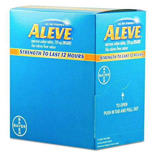 Aleve BXAL50 Pain Reliever Tablets (Pack of 50) ()