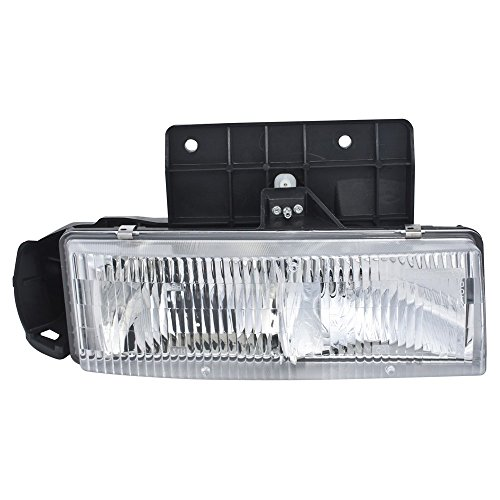 ReplaceMyParts RM-0813052MG Headlight Head Lamp Assembly W/MOUNTING PANEL (COMP) RH Right Passenger Side For 85-05 ASTRO/85-05 SAFARI