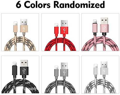 1 Meter 8 Pin USB Cable Data Charger High-strength Nylon 6 C
