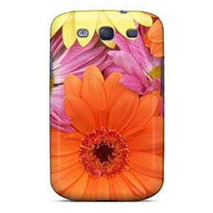 Galaxy Case - Tpu Case Protective For Galaxy S3- Fresh Daisies