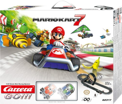 Carrera Go - 20062317 - Radio Commande, Véhicule Miniature et Circuit - Nintendo - Mario Kart 7