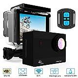 Hieha Action Cam 4K 20MP 1080P HD WiFi 98ft Underwater Sports SJCAM SJ5000 DV Camcorder 170 Degree Wide Lens Angle