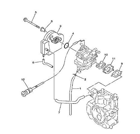 Boat Motor 69M-E3645-A0 Carburetor Gasket for Yamaha 4-Stroke F2.5 Outboard