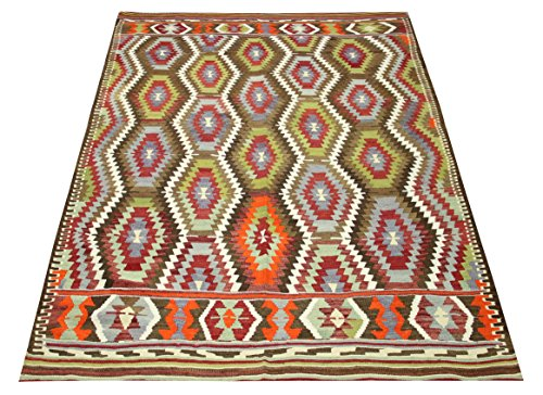 Turkish Kilim rug 7,7x5,7 feet Area rug Old Rug Bohemian Kilim Rug Floor rug Sofa Decor Rustic Kilim Rug Oriental kilim rug