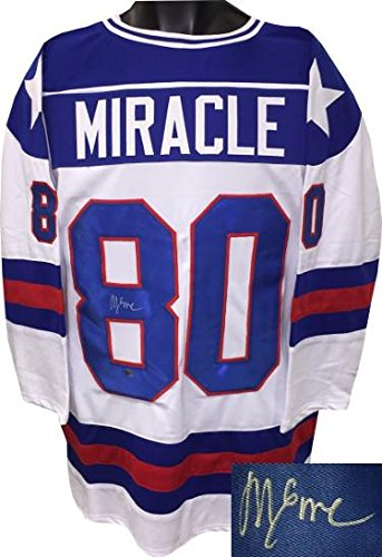 Image Unavailable. Image not available for. Color  Mike Eruzione signed ... 90fbff61360