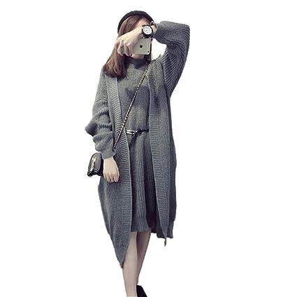 Mujer Chaqueta De Punto Elegante Moda Bonita Basicas Cómodo Cardigan Otoño  Invierno Colores Sólidos Clásico Abrigo Tejido Manga Larga Slim Fit Moda  Joven ... fea9f7fff398
