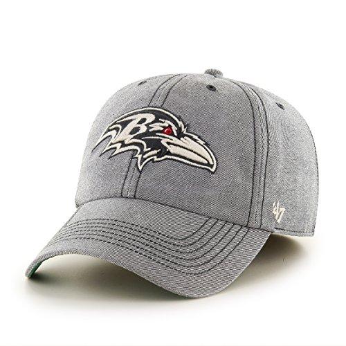 Old Large Nfl Football (NFL Baltimore Ravens Colfax Franchise Fitted Hat, Large, Carbide)