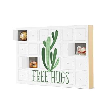 Calendario Adviento 2020.Calendario De Adviento Con Bombones De Ferrero Free Hugs Cactus
