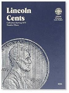 Lincoln Cents Folder Starting 1975 (Official Whitman Coin Folder)