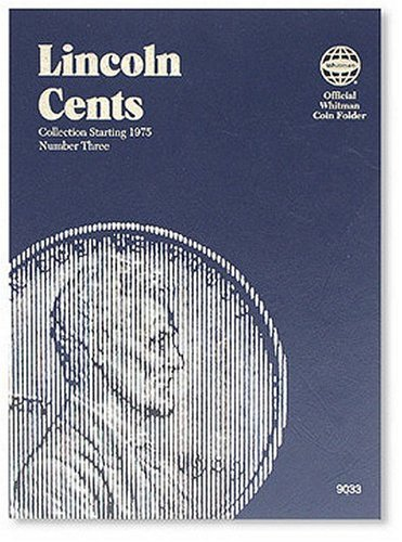 Lincoln Cents Folder Starting 1975 (Official Whitman Coin Folder) (Lincoln Memorial Cents Album)