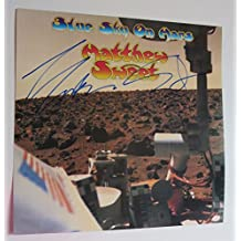 "Matthew Sweet REAL hand SIGNED 12x12"" Blue Sky On Mars promo record flat COA #1"