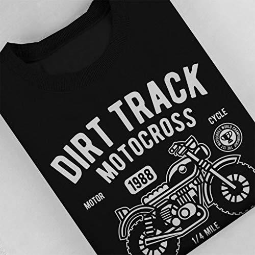 Coto7 Dirt Championship Women's Track Motorcross Black World Sweatshirt qzZwORqn