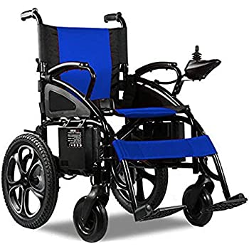 Thrive Mobility Lightweight Portable Folding Electric Power Wheelchair Motorized Wheelchairs for Adults Heavy Duty Electric Wheel Chair Power Chair Silla de ...