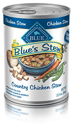 Blue Buffalo Blue's Stew Natural Adult Wet Dog Food, Chicken Stew 12.5-oz can (Pack of 12) ()