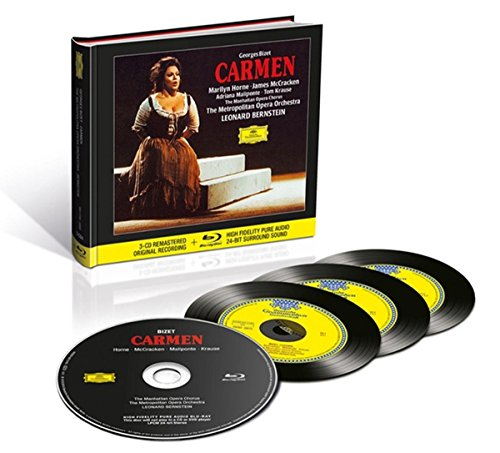 Bizet: Carmen, WD31 [3 CD/Blu-ray Audio Combo]