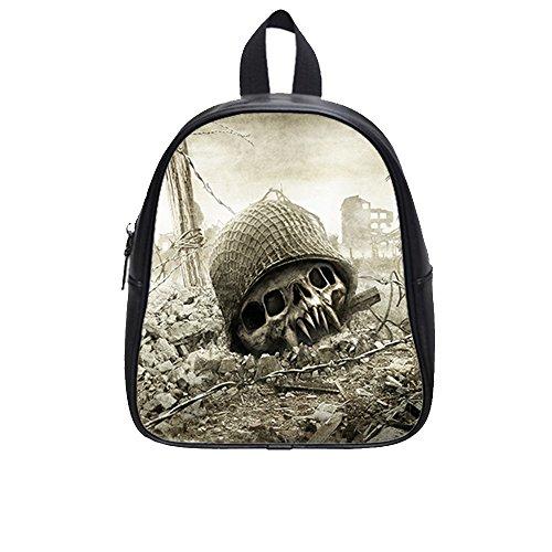 custom-skull-pu-leather-kids-school-bag-medium