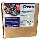 OakTen Set of Two Tire Chain Fits