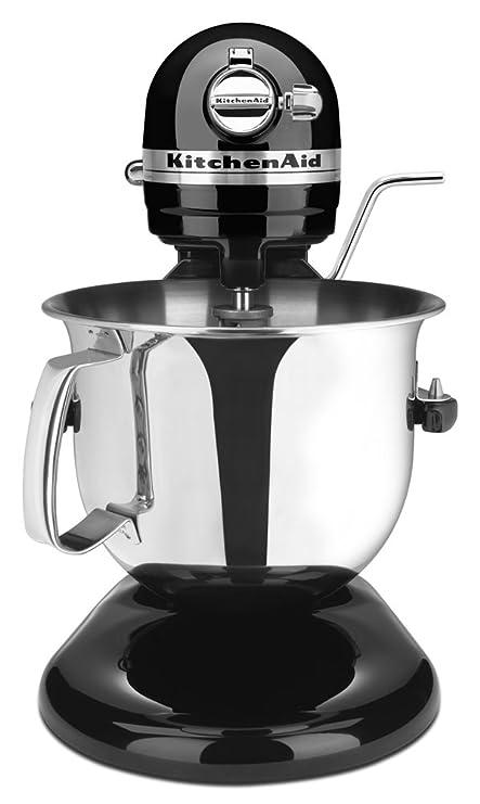 Merveilleux KitchenAid Certified Refurbished Bowl Lift Stand Mixer RKSM6573OB, 6 Qt,  Onyx Black