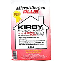 Kirby Micron Magic HEPA FILTER Micro Allergen Plus F Style Vacuum Bags 6 Pack 204814