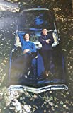 #3: Supernatural Season Premiere with Jared Padalecki and Jensen Ackles Laying on Car 11 x 17 Poster Lithograph