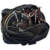 StillCool Borsa Trasporto Bici sacca portabici, per Bicicletta Pieghevole da 14 a 20 pollici (Nero)