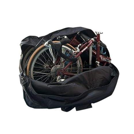 Sacca Bici Pieghevole.Stillcool Borsa Trasporto Bici Per Bicicletta Pieghevole Da 14 A 20 Pollici Nero