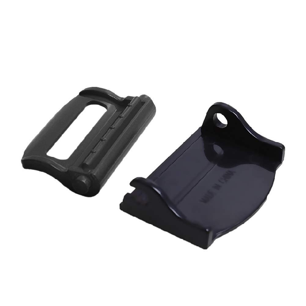 Clips de Bloqueo del Cuello ajustador del cintur/ón de Seguridad relajaci/ón del Hombro SAMTITY 2 Piezas de Hebilla de cintur/ón de Seguridad tap/ón Ajustable