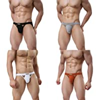 MuscleMate Premium Men's Jockstrap Men's Hot Thong Underwear Low Raise, Comfort,