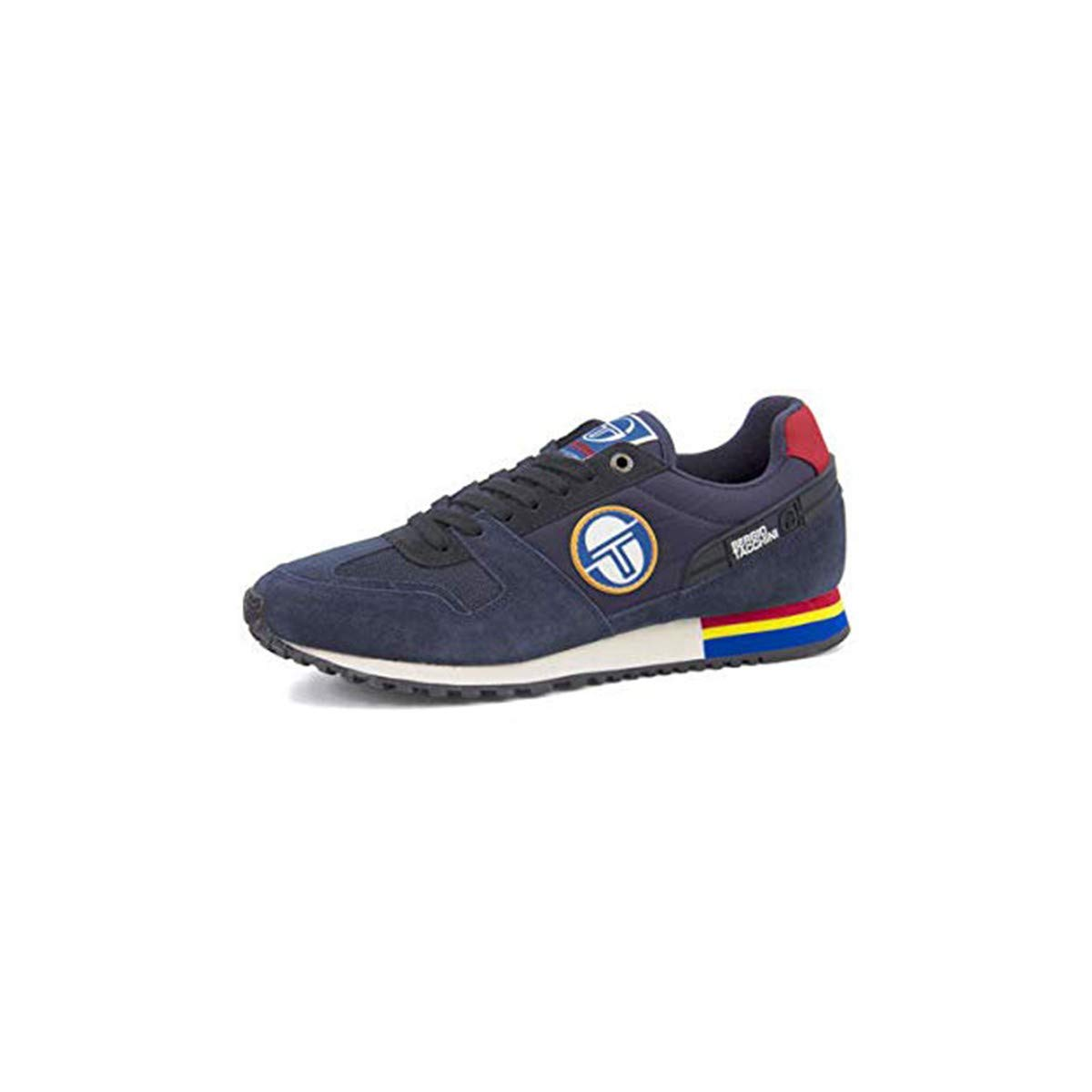 Sergio Tacchini Scarpe Uomo Sneaker camoscio Blu STM823002//01