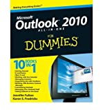 img - for Outlook 2010 All-in-One for Dummies (For Dummies (Computers)) (Paperback) - Common book / textbook / text book