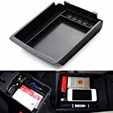 CALAP-STORE - ABS Armrest Secondary Storage Box Center Console For HYUNDAI for ELANTRA 2011 2012 2013 2014 2015 187 x 165 x 35mm