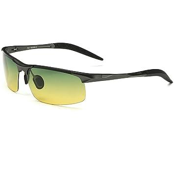 TYJ Gafas de sol Día Y Noche De Uso De Luces Polarizadas Gafas De Sol Conductor